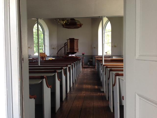 old dutch church interior