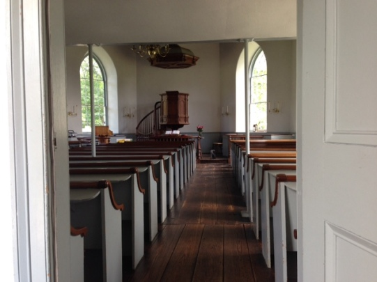 old dutch church interior