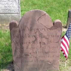 John Buckout d.1785 102 yrs