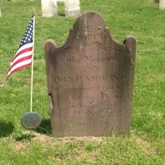 John Hammond d 1817 70 yrs