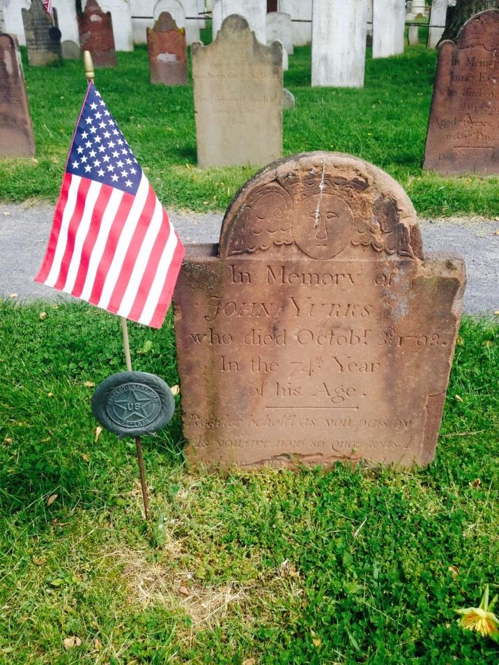 John Yurks d. 1798 74 yrs